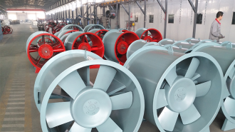 庆阳市生活垃圾焚烧发电厂项目轴流风机试机圆满完成